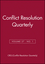 Conflict Resolution Quarterly, Volume 27, No. 1 (0470571624) cover image