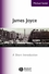 James Joyce: A Short Introduction (0631227024) cover image