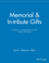 Memorial and In-tribute Gifts: 49 Ideas for Increasing Memorial and In-tribute Gift Support (1118690524) cover image