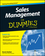 Sales Management For Dummies (1119094224) cover image