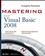 Mastering Microsoft Visual Basic 2008 (0470187425) cover image