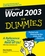 Word 2003 For Dummies (0764539825) cover image