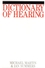 Dictionary of Hearing (1861561326) cover image