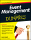 Event Management For Dummies (1118591127) cover image