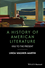 A History of American Literature: 1950 to the Present (1119062527) cover image