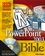 PowerPoint 2003 Bible (0764539728) cover image