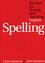 Manual for Testing and Teaching English Spelling (1861563728) cover image