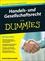 Handels- und Gesellschaftsrecht für Dummies, 2. Auflage (3527802428) cover image