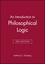 An Introduction to Philosophical Logic, 3rd Edition (0631199829) cover image