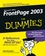 Front Page 2003 For Dummies (0764538829) cover image