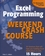Excel Programming Weekend Crash Course (0764540629) cover image