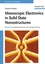 Mesoscopic Electronics in Solid State Nanostructures, 2nd, Completely Revised and Enlarged Edition (3527618929) cover image