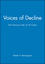 Voices of Decline: The Postwar Fate of US Cities (155786442X) cover image