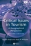 Critical Issues in Tourism: A Geographical Perspective, 2nd Edition (0631224130) cover image