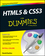 HTML5 and CSS3 For Dummies (1118588630) cover image