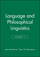 Language and Philosophical Linguistics, Volume 17 (1405116730) cover image