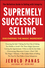 Supremely Successful Selling: Discovering the Magic Ingredient (1118162331) cover image