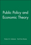 Public Policy and Economic Theory (0631209433) cover image