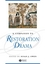 A Companion to Restoration Drama (0631219234) cover image