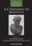 A Companion to Aristotle (1405122234) cover image
