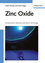 Zinc Oxide: Fundamentals, Materials and Device Technology (3527408134) cover image