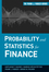 Probability and Statistics for Finance (0470400935) cover image