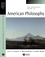 The Blackwell Guide to American Philosophy (0631216235) cover image
