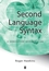 Second Language Syntax: A Generative Introduction (0631191836) cover image