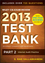 Wiley CIA Exam Review 2013 Online Test Bank 1-Year Access: Part 2, Internal Audit Practice (1118551036) cover image