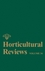 Horticultural Reviews, Volume 34 (0470171537) cover image