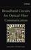 Broadband Circuits for Optical Fiber Communication (0471712337) cover image