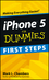 iPhone 5 First Steps For Dummies (1118538137) cover image