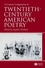 A Concise Companion to Twentieth-Century American Poetry (1405120037) cover image