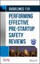 Guidelines for Performing Effective Pre-Startup Safety Reviews  (0470134038) cover image
