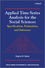 Applied Time Series Analysis for the Social Sciences: Specification, Estimation, and Inference (0470749938) cover image