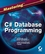 Mastering�C#�Database Programming (0782141838) cover image