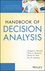 Handbook of Decision Analysis (1118173139) cover image