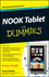 NOOK Tablet For Dummies, Portable Edition (1118306139) cover image