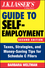J.K. Lasser's Guide to Self-Employment: Taxes, Strategies, and Money-Saving Tips for Schedule C Filers, 2nd Edition (111965873X) cover image