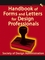 Handbook of Forms and Letters for Design Professionals (0471267740) cover image