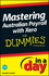 Mastering Australian Payroll with Xero In A Day For Dummies (1118572440) cover image