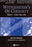 Wittgenstein's On Certainty: There - Like Our Life (1405134240) cover image
