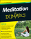 Meditation For Dummies, w/Audio CD, 3rd Edition (1118291441) cover image