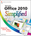 Office 2010 Simplified (0470571942) cover image
