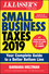 J.K. Lasser's Small Business Taxes 2019: Your Complete Guide to a Better Bottom Line (1119511542) cover image