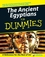 The Ancient Egyptians For Dummies (0470065443) cover image