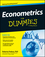 Econometrics For Dummies (1118533844) cover image