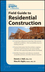 Graphic Standards Field Guide to Residential Construction (0470635045) cover image
