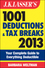 J.K. Lasser's 1001 Deductions and Tax Breaks 2013: Your Complete Guide to Everything Deductible (1118346645) cover image