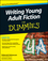 Writing Young Adult Fiction For Dummies (0470949546) cover image